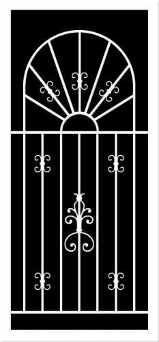 Designer Screen Doors Puertas De Screen Con Dise 209 Os